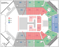 Old Dominion Seating Chart
